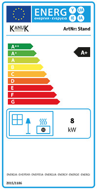 Kanuk STAND 8 kW Energieeffizienzlabel A+